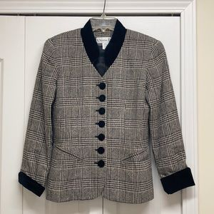 Dior vintage tweed blazers jacket